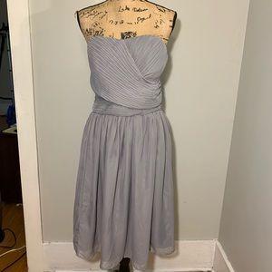 Tevolio grey strapless dress size 18W